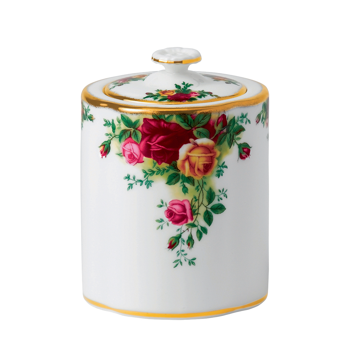 Old Country Roses Tea Caddy By Royal Albert
