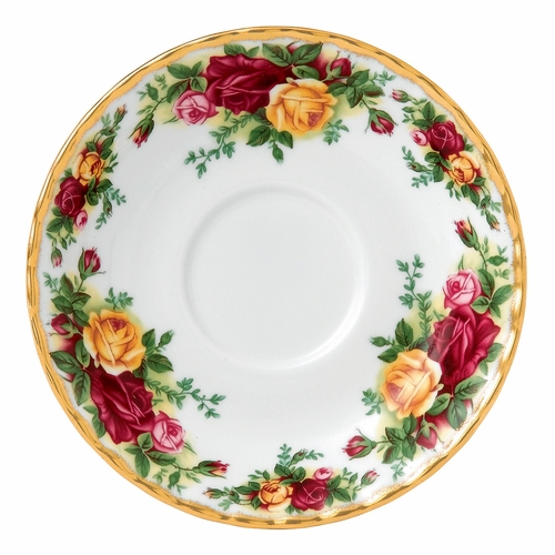 Old Country Roses Tea Saucer by Royal Albert - Special Order