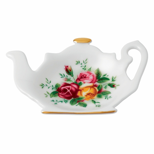 Old Country Roses Tea Tip/Bag Rest by Royal Albert - Special Order