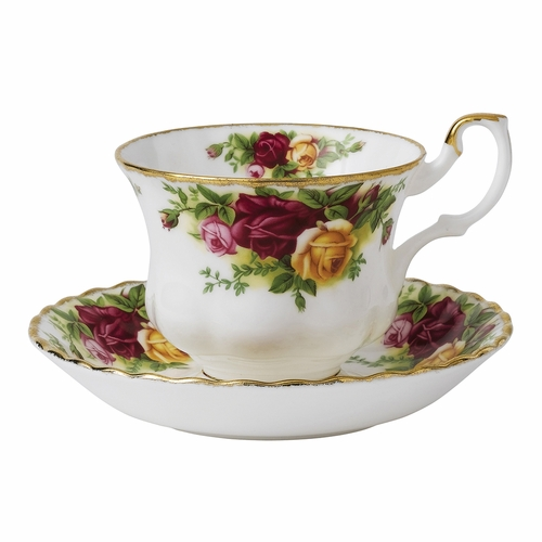 Old Country Roses Teacup & Saucer Boxed Set by Royal Albert - Special Order