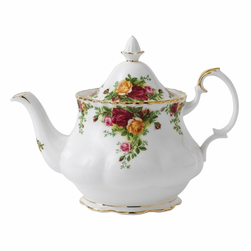 Old Country Roses Teapot by Royal Albert - Special Order