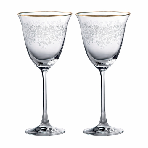Old Country Roses Wine Glass - Set of 2 - by Royal Albert - Special Order