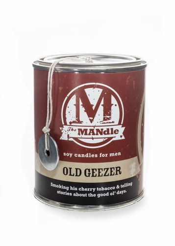 Old Geezer 15 oz. Paint Can MANdle by Eco Candle Co.