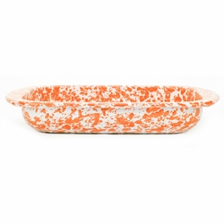 Orange Swirl Baking Pan by Golden Rabbit