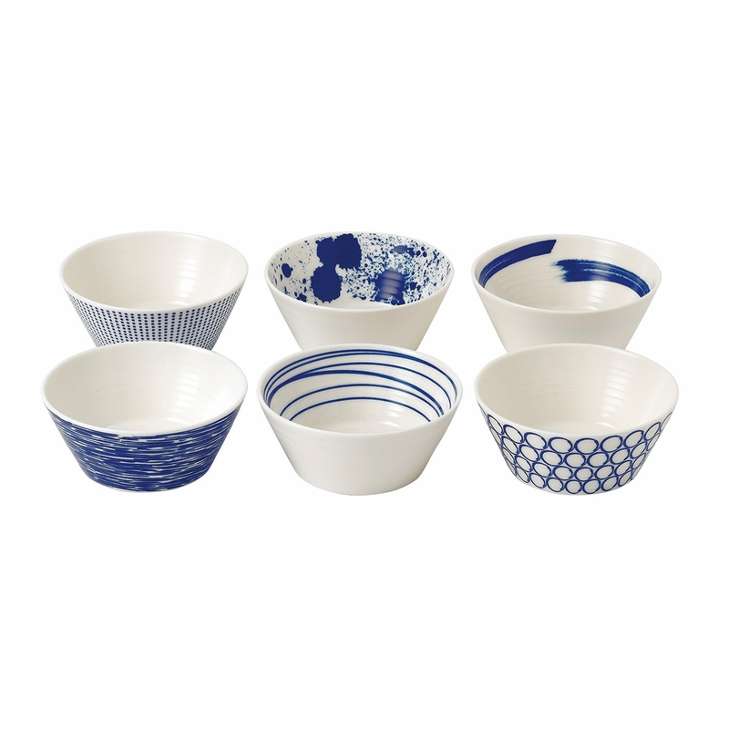sc 1 st  The L& Stand & Pacific Mixed Patterns Tapas Bowls - Set of 6 - by Royal Doulton