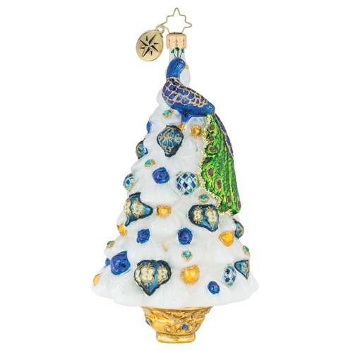 Peacock Perfection! Ornament by Christopher Radko