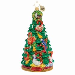 Pear Tree Promises Ornament by Christopher Radko
