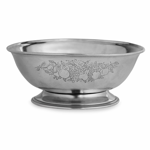 Peltro Footed Fruit Bowl - Arte Italica