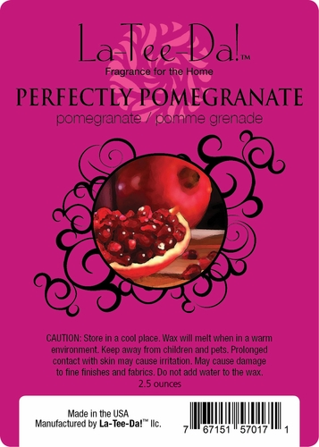 Perfectly Pomegranate Magic Melt by La Tee Da