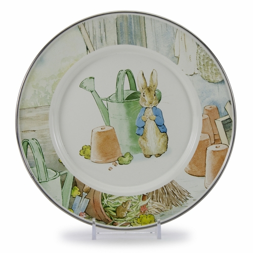 Peter & the Watering Can Child Plate by Golden Rabbit