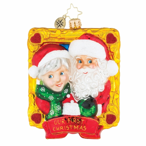 Picture Perfect Couples Ornament by Christopher Radko