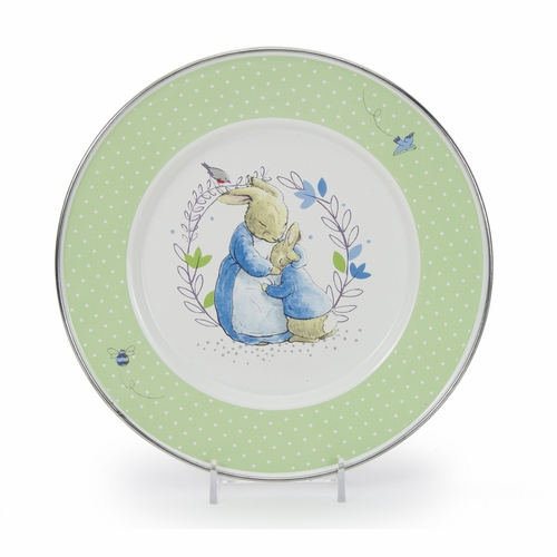 Polka Dot Peter Child Plate by Golden Rabbit