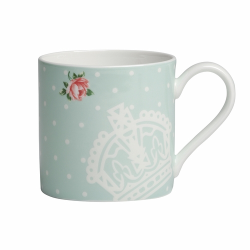 Polka Rose Modern Mug by Royal Albert - Special Order
