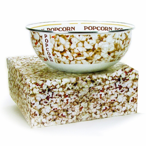 Popcorn Bowl with Gift Box by Golden Rabbit