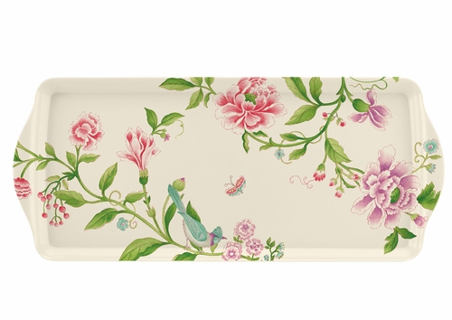 Porcelain Garden Sandwich Tray by Pimpernel