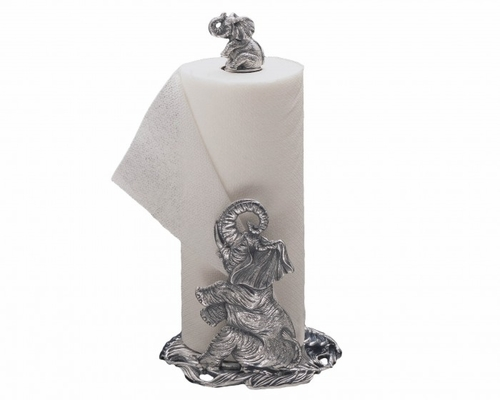 Elephant Paper Towel Holder by Arthur Court