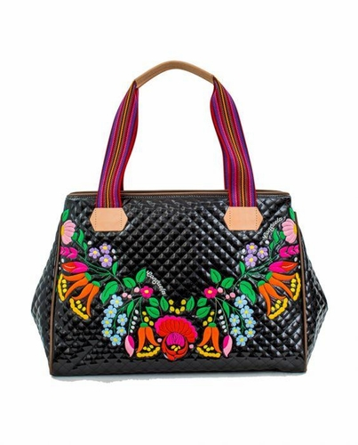 Temporarily Out of Stock -(Avail. December) La Reina II Playa Grande Tote by Consuela