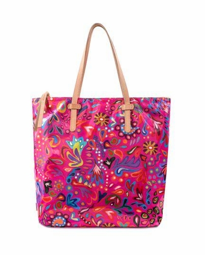 Pink Swirly Legacy Market Tote by Consuela