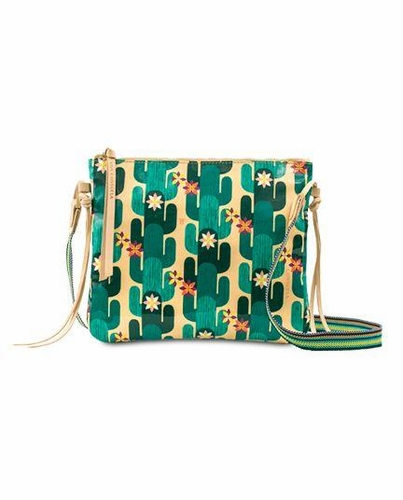 Spike Legacy Top Zip Crossbody by Consuela
