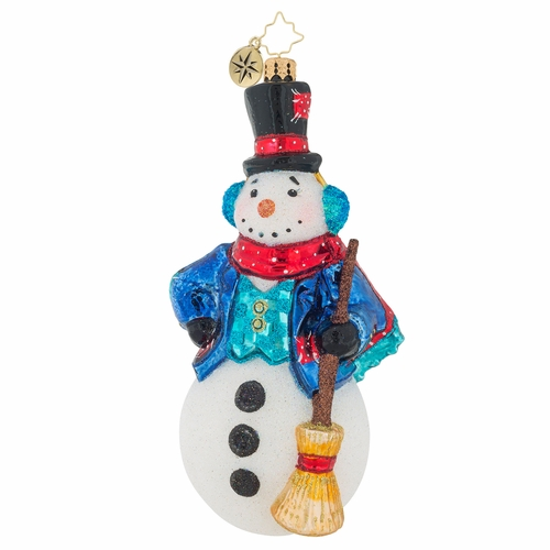 Vintage Frost Ornament by Christopher Radko