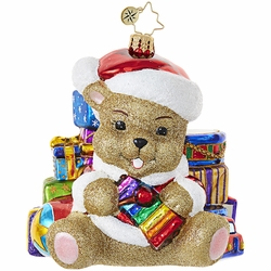 Bearing Gifts Ornament by Christopher Radko