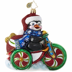 Cool Tricycle! Ornament by Christopher Radko