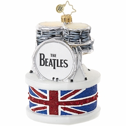 Ringo Drum Set Ornament by Christopher Radko