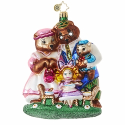 She Can't Bear to Eat Alone Ornament by Christopher Radko