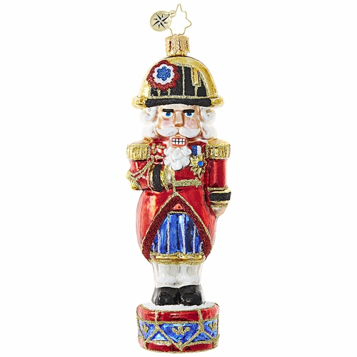 The Nutty Dictator Ornament by Christopher Radko