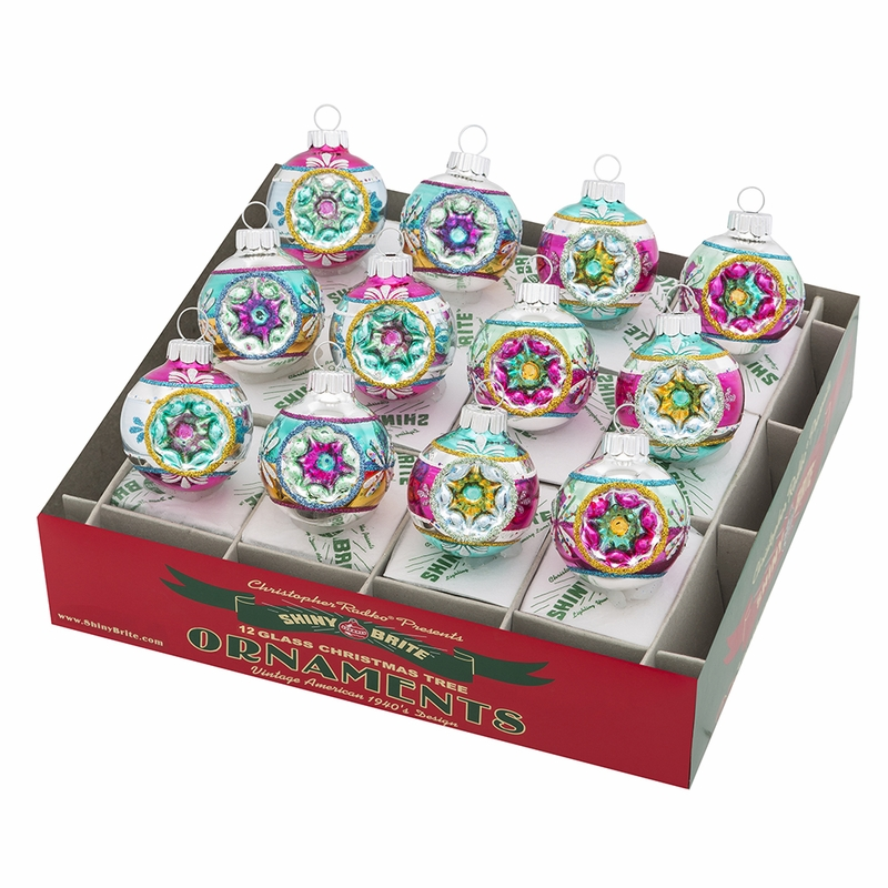 "Vintage Celebration 1.75"" Rounds with Reflectors (Set of ..."