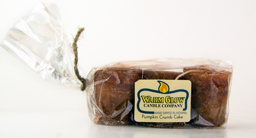 Pumpkin Crumb Cake 3-pack Votive by Warm Glow Candles