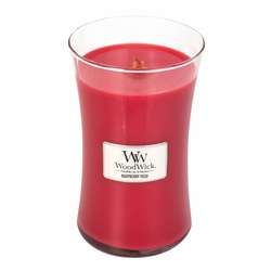 Raspberry Yuzu WoodWick Candle 22 oz. | WoodWick Spring & Summer Clearance