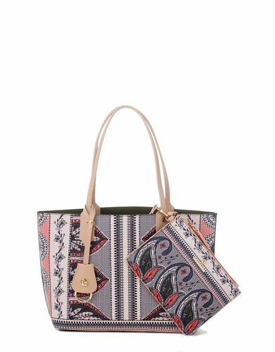 Retreat Palmetto Paisley Small Tote by Spartina 449
