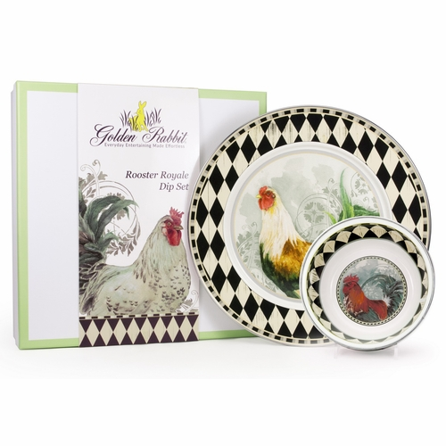 Rooster Royale Dip Set by Golden Rabbit