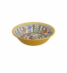 Rooster Yellow Cereal Bowl by Le Cadeaux