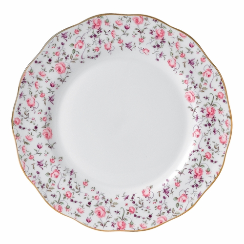Rose Confetti Dinner Plate by Royal Albert - Special Order