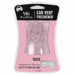Rose WoodWick Car Vent Freshener | Discontinued & Seasonal WoodWick Items!