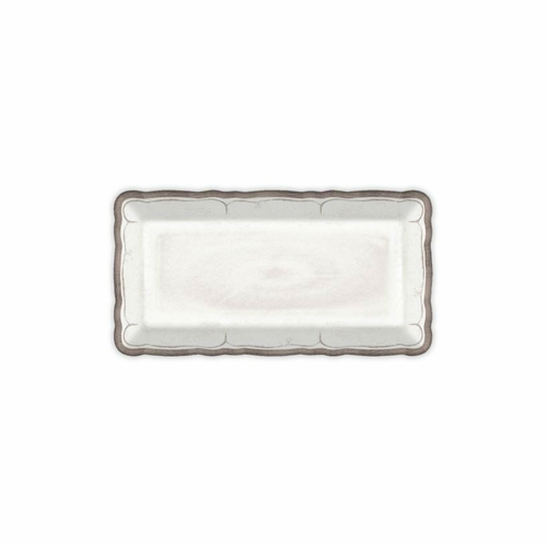 Rustica Antique White Biscuit Tray by Le Cadeaux