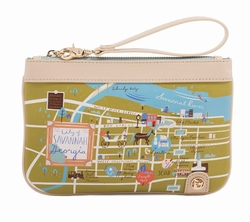 Savannah Zip Wristlet - Oh So Witty by Spartina 449