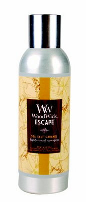 Sea Salt Caramel WoodWick Escape Room Spray