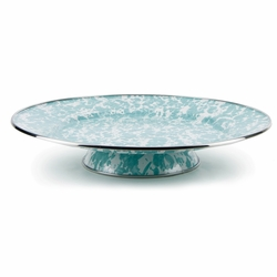 Seaglass Cake Plate by Golden Rabbit