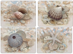 Set of 4 Beach Prize Placemats by Pimpernel
