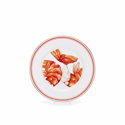 Shrimp Dinner Plate by Golden Rabbit