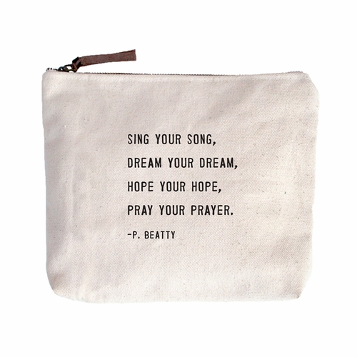 Sing Your Song Canvas Bag by Sugarboo Designs