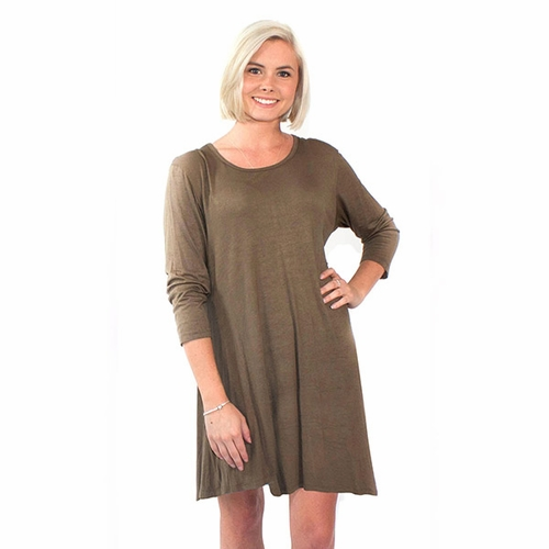 Small Olive Tunic by Simply Southern