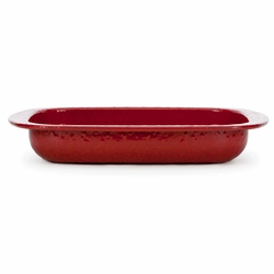 Solid Red Baking Pan by Golden Rabbit