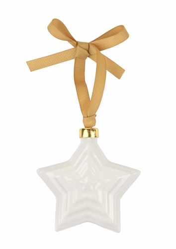 Sophie Conran Hanging Star Ceramic Ornament by Portmeirion