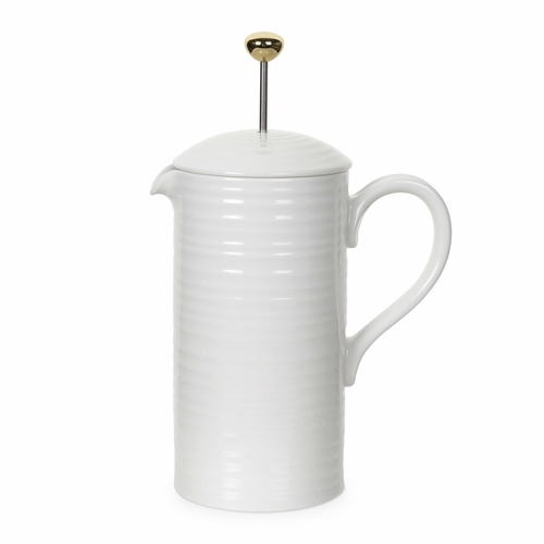Sophie Conran White Cafetiere Coffee Pot by Portmeirion