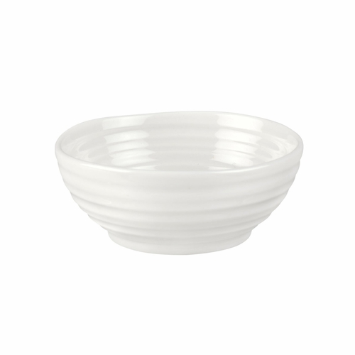 Sophie Conran White Low Bowl by Portmeirion
