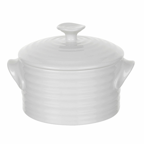 Sophie Conran White Round Lidded Pot by Portmeirion